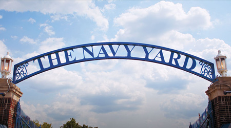 Free Shuttle service to the Navy Yard
